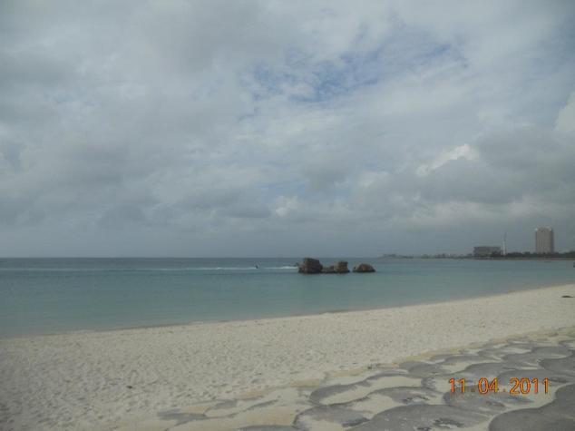 The Araha Beach